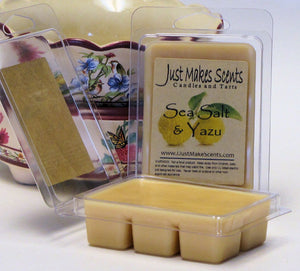 Sea Salt & Yuzu Scented Soy Wax Melts
