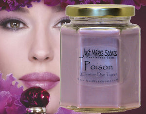 Poison Scented Candle -  Compare to Christian Dior® Perfume