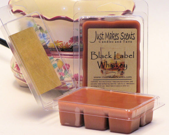 Black Label Whiskey Scented Wax Melts