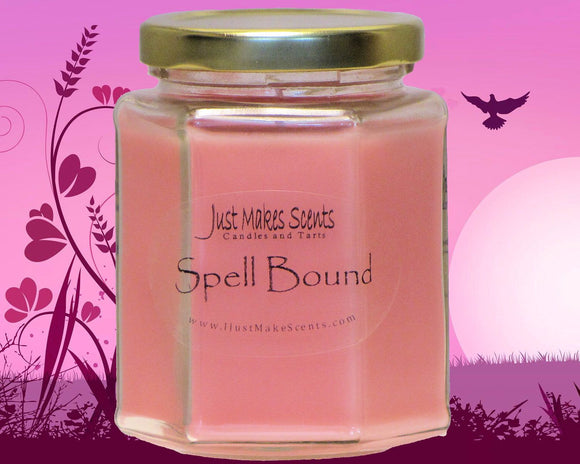 Spell Bound Scented Candle - Designer Scent Candle - Blended Soy Candle - Free Shipping on Orders of 6 With Coupon Code