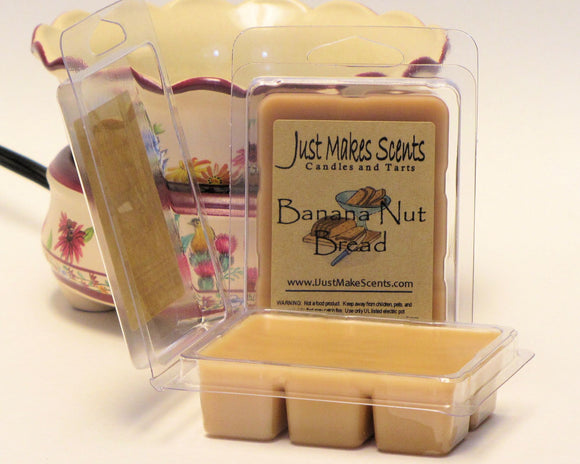 Banana Nut Bread Scented Wax Melts