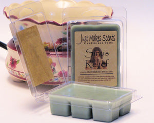 Sinus Relief Wax Melts with Camphor & Eucalyptus