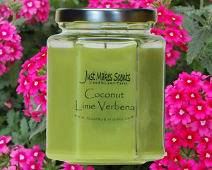 Coconut Lime Verbena Scented Candle