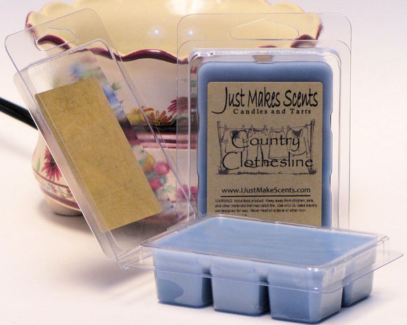 Country Clothesline Scented Wax Melts - Compare to the scent of Downy Fabric Softener