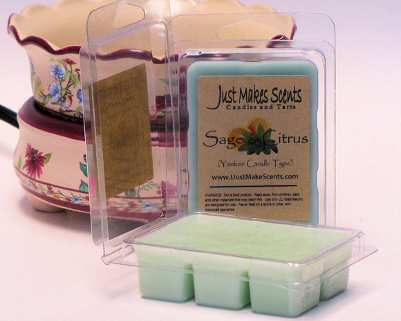 Sage and Citrus Wax Melts