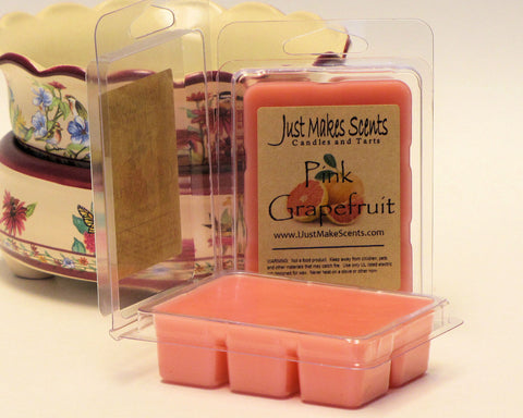 Pink Grapefruit Scented Wax Melts
