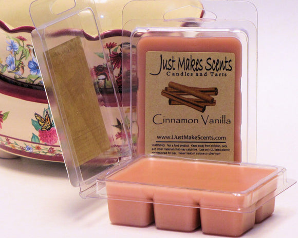 Cinnamon Vanilla Scented Wax Melts