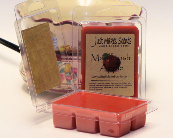 MacIntosh Apple Scented Wax Melts