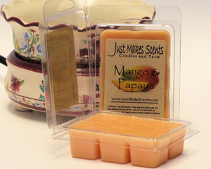 Mango & Papaya Scented Wax Melts