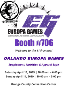 Taking the Beast on the road....2019 Europa Games Orlando FL