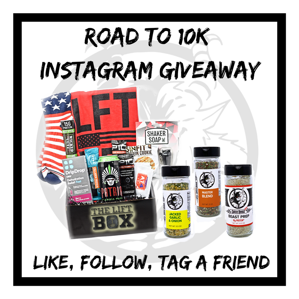 Instagram Road to 10k Promotion/Giveaway