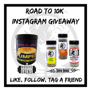 House of Gains and Spice Beast Giveaway