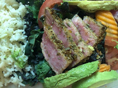 Seared Ahi Tuna using Meal Prep Spices by Spice Beast