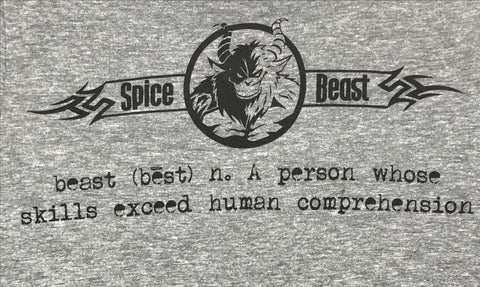 Definition of a Beast Tee - Heather Grey