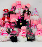 Breast Cancer Awareness Warrior Gnome Gift Basket