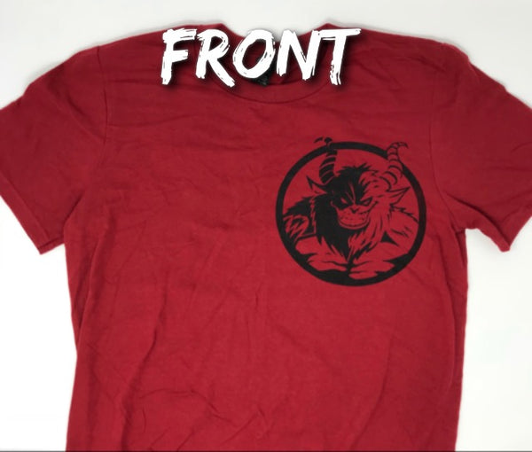 Definition of a Beast Tee - Cardinal Red