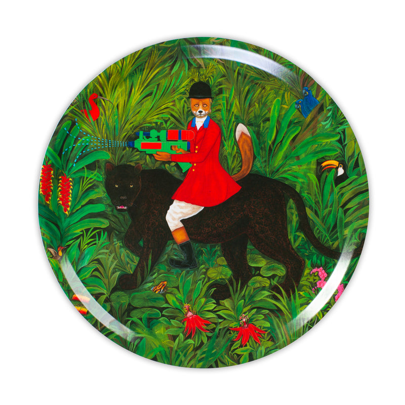 The Hunter 31 cm Circular Tray