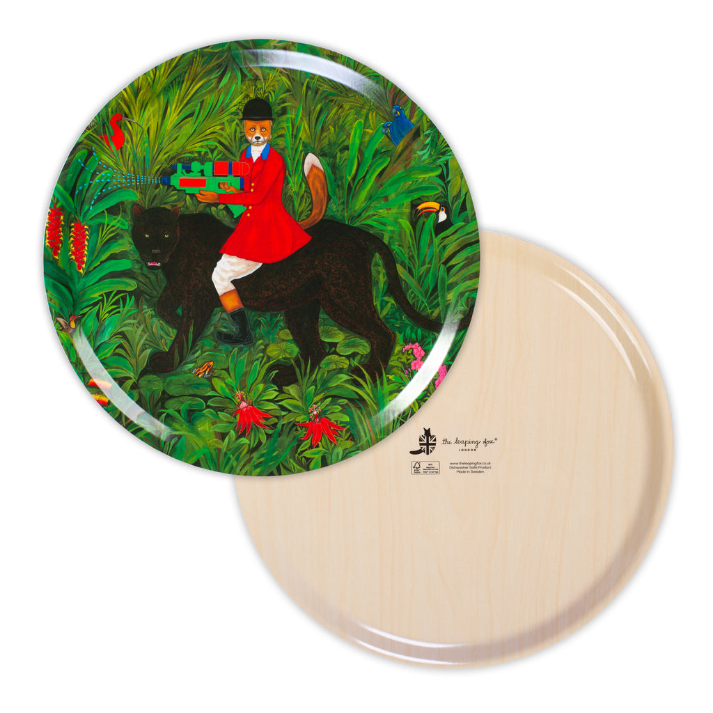 The Hunter 38 cm Circular Tray