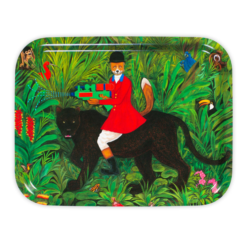 The Hunter 36 cm by 28 cm Tray