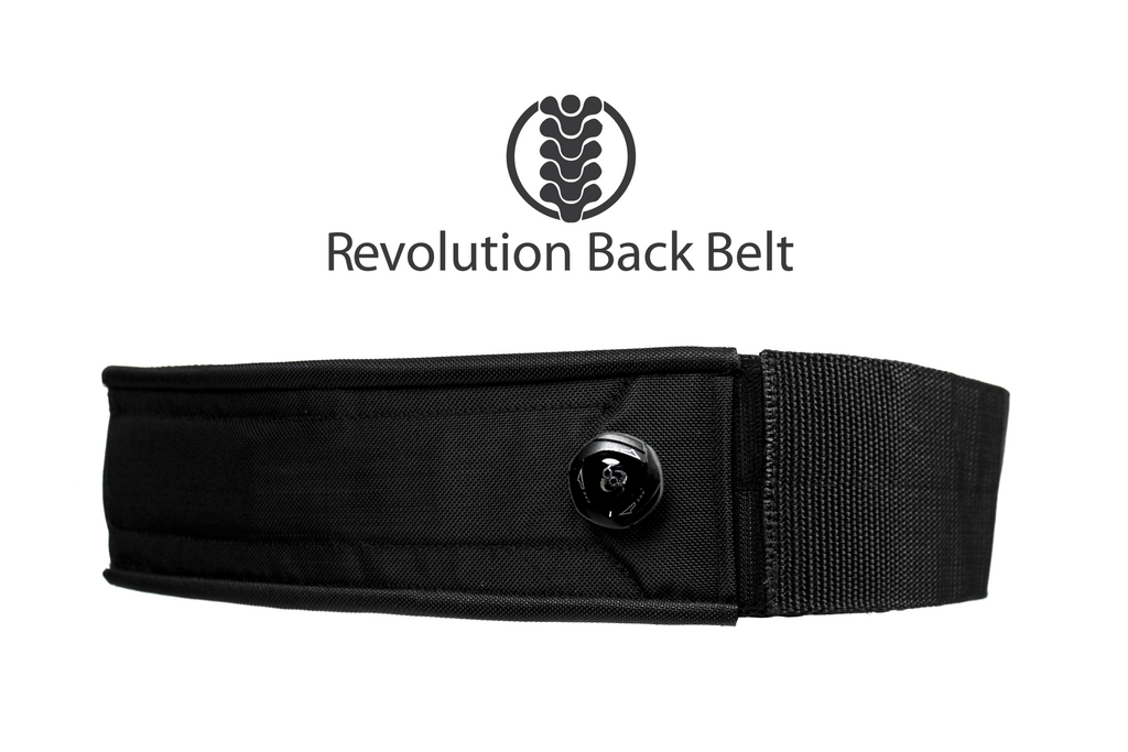 Revolution Back Belt - Coming to KickStarter Soon! Shipping begins Oct 1st