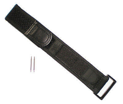 Luminox BLACK OUT Watch Band Nylon Navy Seals 22/23 mm 3000/3900/3050/3080 NO Br