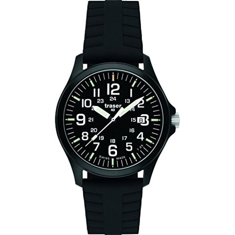 traser H3 Officer Pro Sapphire Watch | Nato Strap - Black