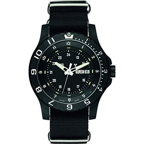 traser H3 Military P6600 Type 6 Mil-G Sapphire Watch | Nato Strap - Black