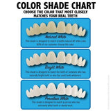 INSTANT SMILE TEETH REPLACEMENT KIT EZ Missing Temporary Tooth Fix CHOOSE COLOR