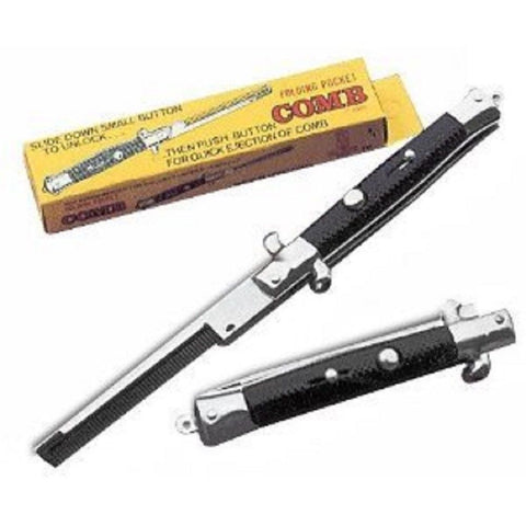 SWITCHBLADE COMB knife comb with switch blade NEW!!!