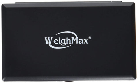Weighmax Classic 3805 Series Digital Pocket Scale, 650g Gram Black