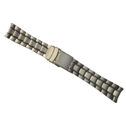 TRASER / Luminox Titanium 22mm Watch Band Strap Solid End Links Built In
