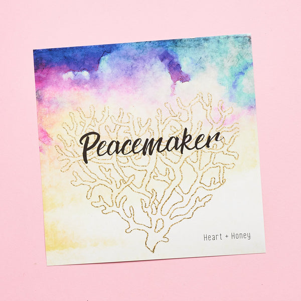 May -  Peacemaker Box