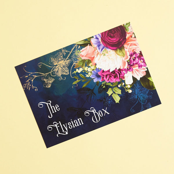 April - The Elysian Box