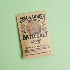 Heart Honey Moonstone Cosmic Bath Salts by Gem & Honey