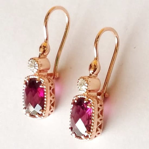 Lucent Lychee Drop Earrings
