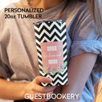 Load image into Gallery viewer, Personalized Bridesmaid TUMBLER 20oz - Guestbookery