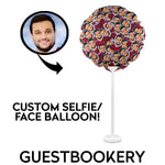 Load image into Gallery viewer, Custom Faces Balloon - Guestbookery