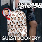 Load image into Gallery viewer, Custom Faces Backpack - Guestbookery
