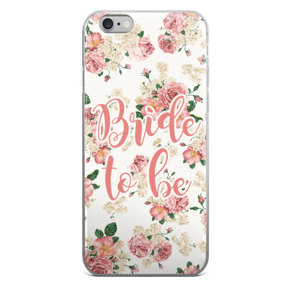 Bride To Be Floral Phone Case - Guestbookery