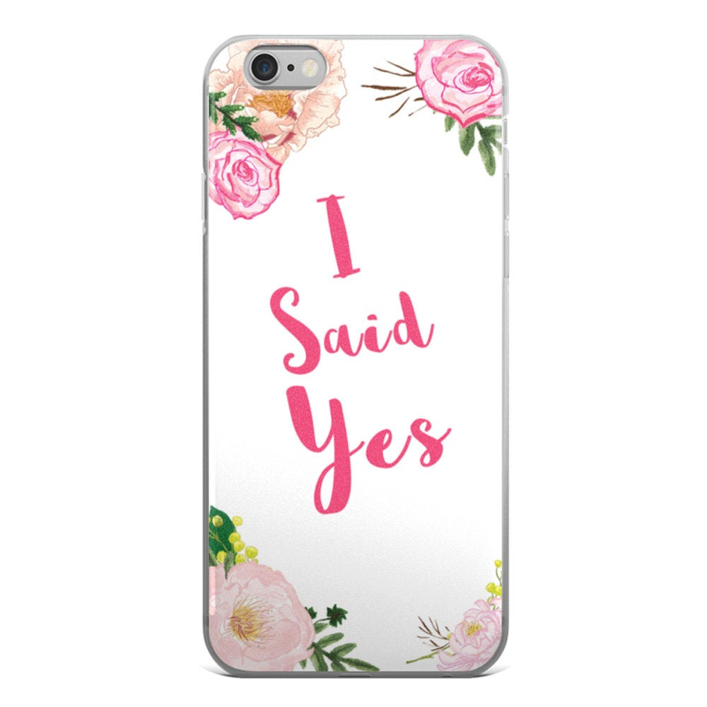 I Said Yes Phone Case - Guestbookery
