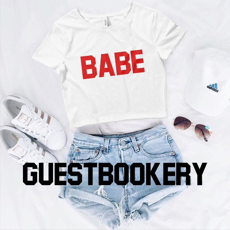 Babe Crop Top - Guestbookery