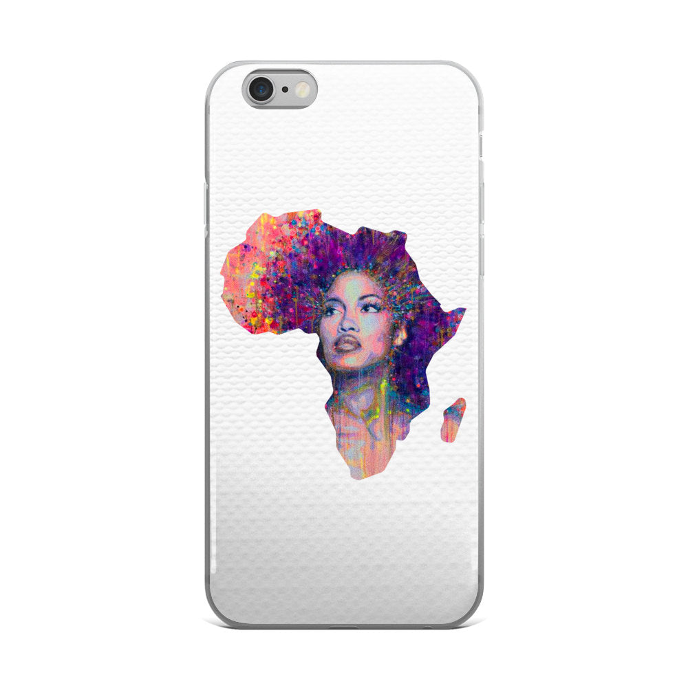 African Woman Phone Case - Guestbookery