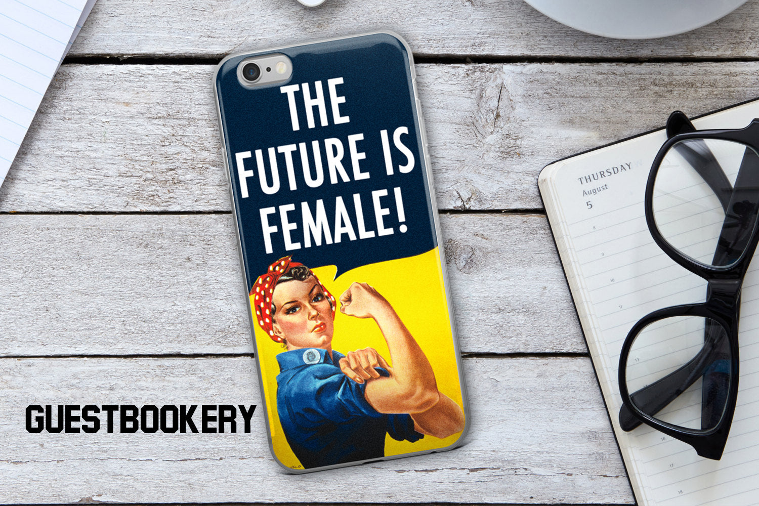 The Future is Female Phone Case