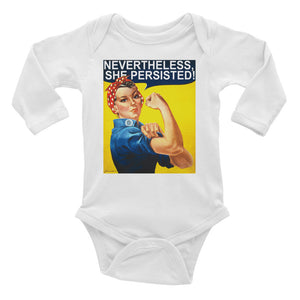 Nevertheless She Persisted Onesie - Guestbookery