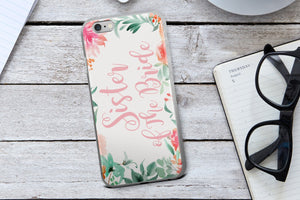 Sister of the Bride Phone Case - Guestbookery