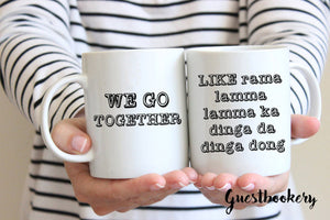 We Go Together Grease Mug - Guestbookery