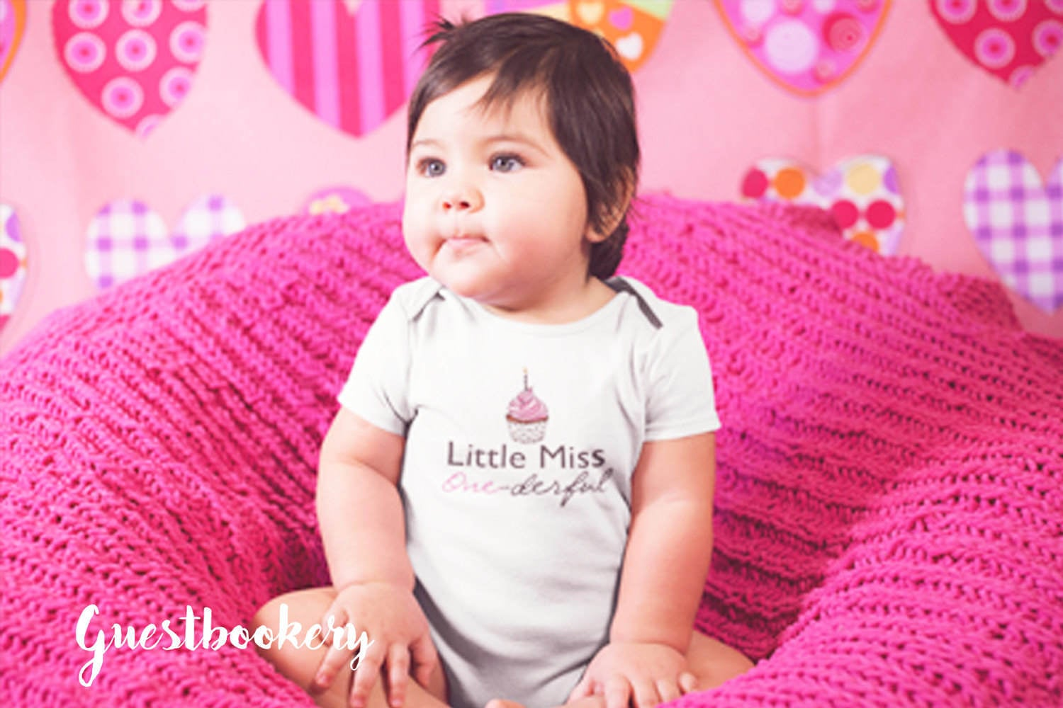 Little Miss Onederful Onesie - Guestbookery