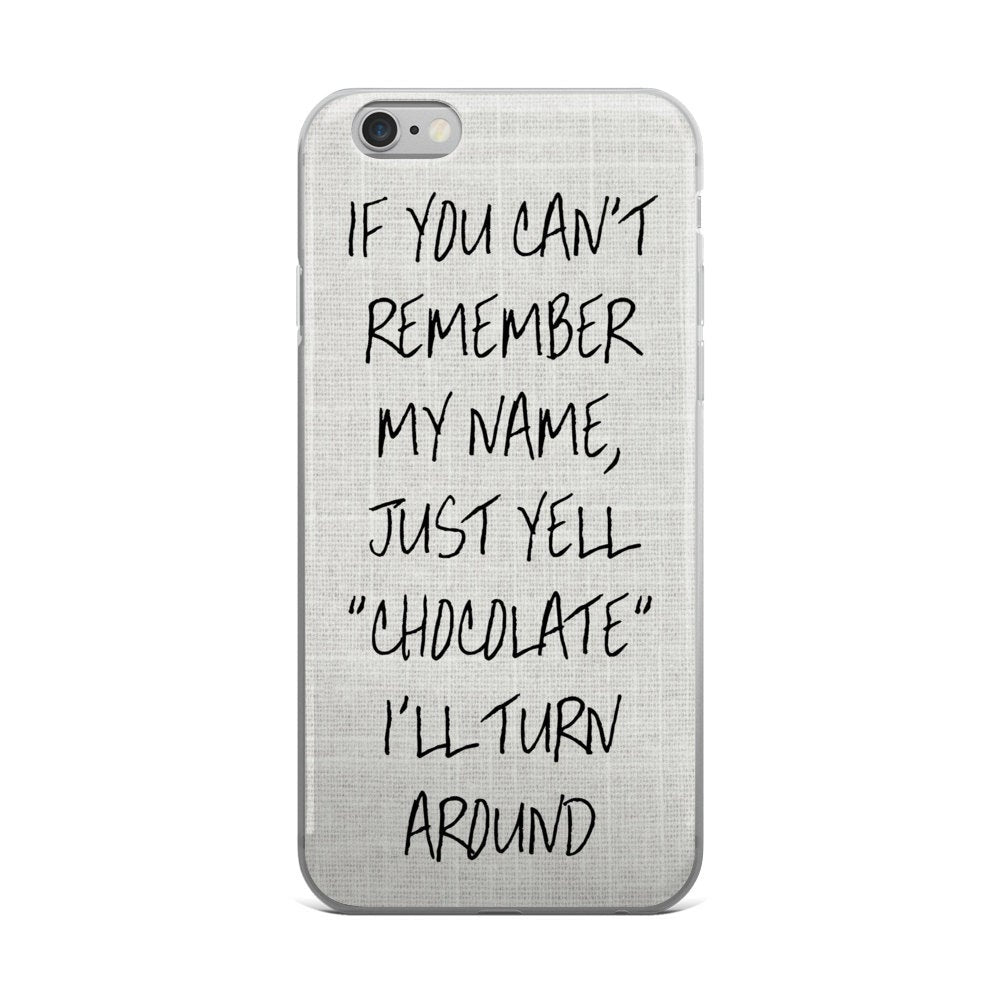 Chocolate Phone Case - Guestbookery