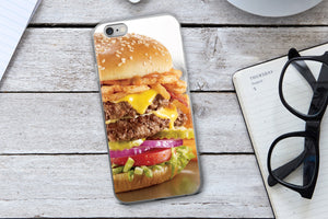 Burger Phone Case - Guestbookery