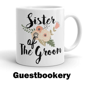 Custom Mother of the Bride Mug - Guestbookery
